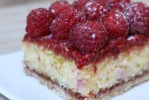 gâteaux framboise