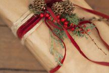 X mas gift wrapping idea