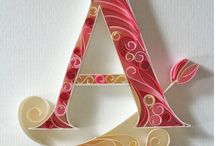 Quilling / I just love quilling, it's so beautiful and calming with all the curls of paper. I've dabbled in it in the past and just don't need another hobby but I do love looking at it!! / by Tracy Hanville