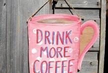Coffee - Cafe - Kaffee - Java - Kahve / by Pam Black