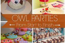 OWL PARTY / by ETNA NIKOLAIDOU