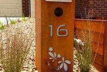 letter box garden