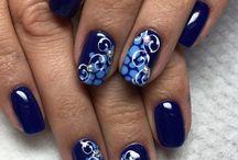 Blue nails!!!
