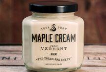 Maple Syrup Packaging / maple syrup packaging and label inspiration.
