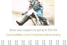 Ricky Wood Recovery Go Fund Me / Spreading the word to help raise funds for our best friend who has broken his neck in a mountain biking accident and suffered severe spinal injures.