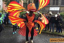 Carnivals / Carnivals Costumes Parades Fun and Happiness