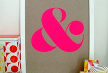 Ampersand Design Studio / where pattern & color come to play