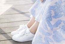 FLORAL WARDROBE / Blumen überall. Auf Kleidung, Accessoires oder Schuhen