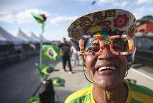 World Cup Brazil 2014 People & Funs ~ Copa del Mundo