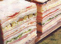Relleno para sandwich