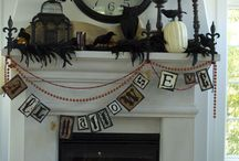 Mantel ideas for seasons