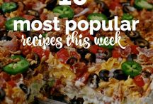 10 most popular recipes