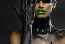 Makeup High Fashion Collected by Latina Model Magazine / Latina Model Magazine Favorite Makeup Artist High Fashion Work