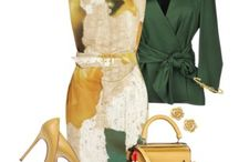 ...mix and match...woman prêt-à-porter... / ...easy to match easy to mix style and dresses