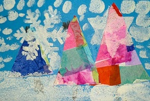 WINTER FUN in First Grade / Collection of art, writing and math activities all about the snow and winter.