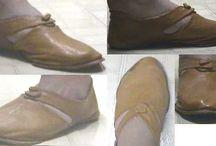 Историческая обувка / Кожаная обувка разных веков
