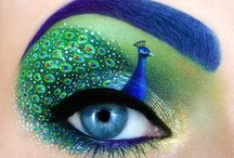 Art: Eye-Catching / Artful Eye Makeup Ideas (mainly from Tal Peleg), remarkable eyes from other species and eye-drawing techniques.