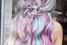 Summer hair dye