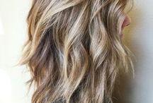 hellbraune Töne / Haarfarben