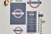 Wedding Stationary / Find ideas for your wedding invites, table plans and guest books