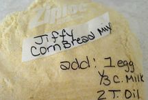 Recipe Mix copycats / Jiffy Mix, dry onion soup, and more copycat make your own mixes.   / by Marcia C.