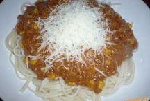 zmes špagety