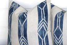 HOME | Indigo Textiles / Indigo textiles and home decorations for a cozy and modern home.