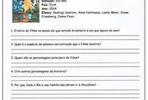 ficha interpretação de filme Rio 2