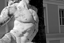 sculture di guerrieri