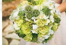 We love green for weddings!