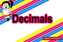 Decimals / These Decimal mazes gives the students a fun and differentiated activity while allowing for quick and painless grading! This is a great activity for students to complete as a practice or homework. It will help them practice their Decimals, but also have fun going through the maze!  https://www.teacherspayteachers.com/Product/Decimal-Mazes-BUNDLE-2168082