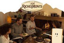 Inspiration Raclette Party RichesMonts - Very Good Moment / Prenez l'hiver du bon côté avec RichesMonts ! Qui dit passage à l'heure d'hiver, dit 60min en plus!  60min de défis musicaux et de la Raclette à partager avec 5 de vos amis, pour une soirée gourmande et festive !