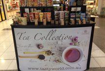 Tea Store / Our pop-up tea store at Baldivis Shopping Centre.