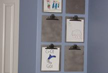Great way to display children's art / by Margie Ura