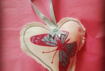 Hearts / Scented and decorative