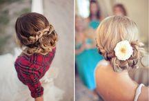 Wedding - Hairstyles / by Addy Harrington