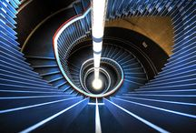 Stairs, railings, steps, and paths / by Kirsten Parris