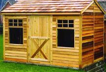 Cedar Cabin Kits / The Cedarshed Haida Cabin kit offers an affordable way to experience outdoor living and makes a perfect retreat or backyard studio for projects.