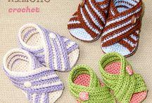 zapatitos crochet