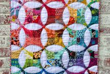 Quilting - curves - flowering snowball