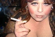 Men Smoking Female Cigarettes