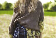 Camping country knit