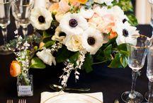 table  deco flowers