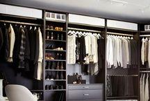Armarios y vestidores / Organización de ropa