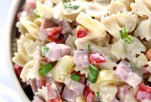 Recipes / Pasta salad Hawaiian