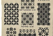 Korssting/ Cross stitch