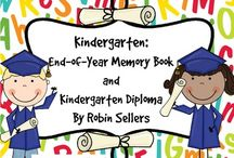 Kindergarten Graduation and End of Year Memory Books / Here's one teacher's Pinterest board that covers Kindergarten Graduation and End of Year Memory Books.