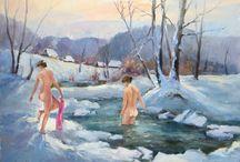 Картини, живопис, пейзажі, акварель - інтернет-магазин Karpaty Rocks