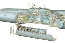 Submarine - Cutaways