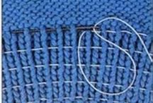 puntadas dos agujas